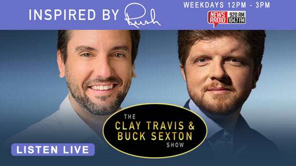 Inspired By Rush, Clay Travis and Buck Sexton  have a new and fresh approach to talk radio! Tune in weekdays stating at noon!