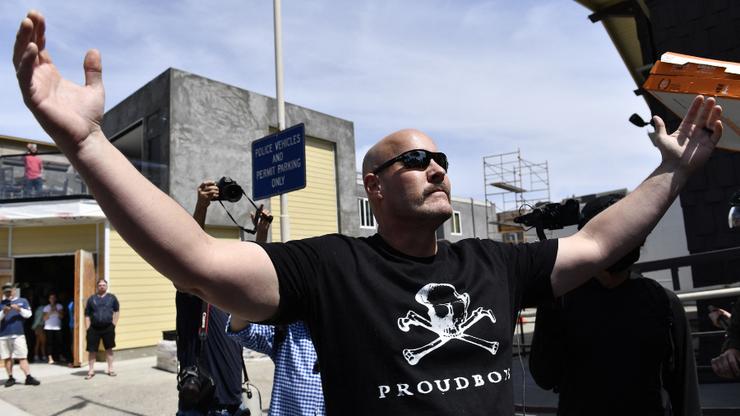 Proud Boys Begin Selling BLM, Anti-Trump Merch To Stay Afloat Financially