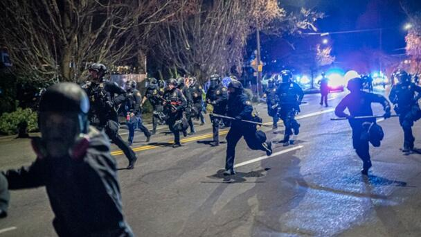 An Entire Police Riot Team Quit After One Of Its Officers Was Indicted