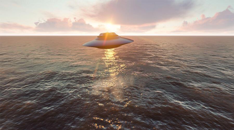 UFO Footage Shot Off San Diego Coast Shows Objects Swarming Navy Warships | iHeartRadio