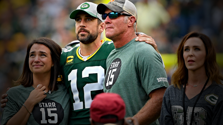 Here are Brett Favre's Latest Comments About Aaron Rodgers' Holdout