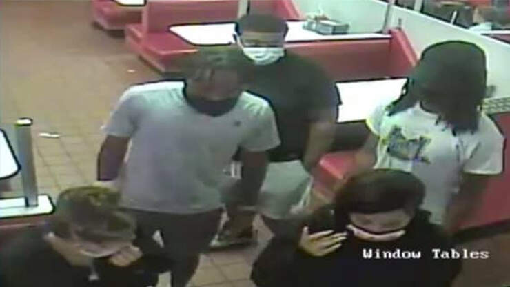Waitress Abducted, Attacked After Chasing 5 People Who Didn't Pay Bill
