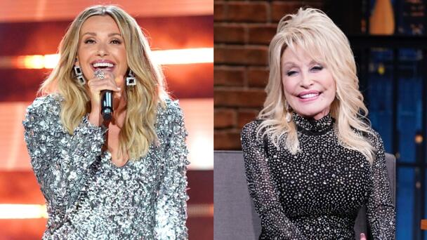 Dolly Parton Surprises Carly Pearce With Invite To Join The Grand Ole Opry