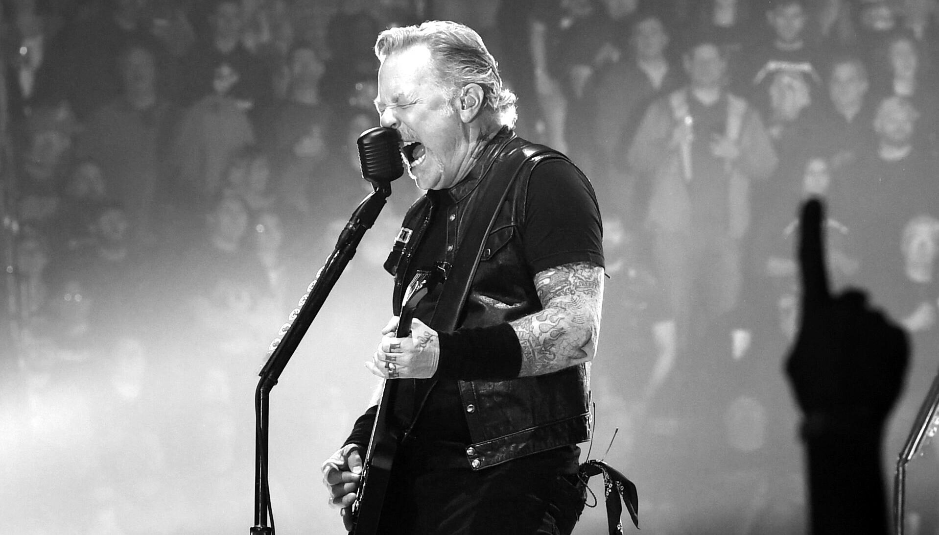 Metallica Announces 'Black Album In Black & White' Photo Book Due This Fall | iHeartRadio
