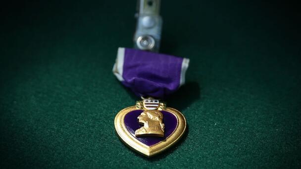 Black WWII Veteran Finally Receives Purple Heart At 99