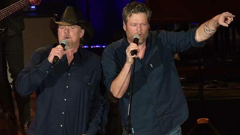 Why Blake Shelton Really Tapped Trace Adkins For 'Friends & Heroes Tour'