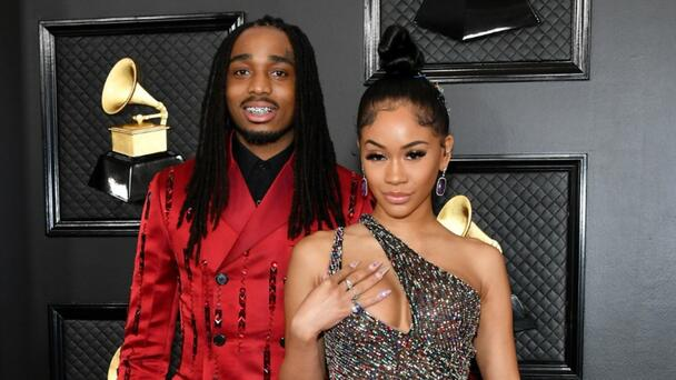 Looks Like Quavo Did Repossess Saweetie's Bentley — And He's Selling It