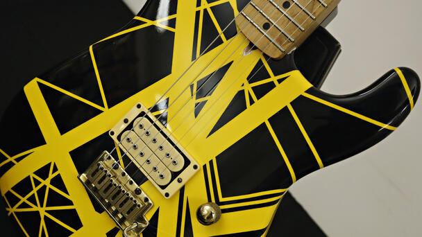 Another Stage-Used Eddie Van Halen Guitar Is Headed To Auction
