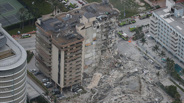 Dozens Still Missing After 12-Story Condo Building Collapses In Florida