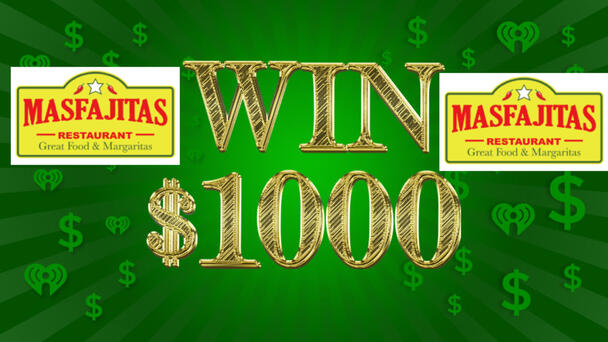 Listen Weekdays from 6am-8pm for the cue to text to win $1000