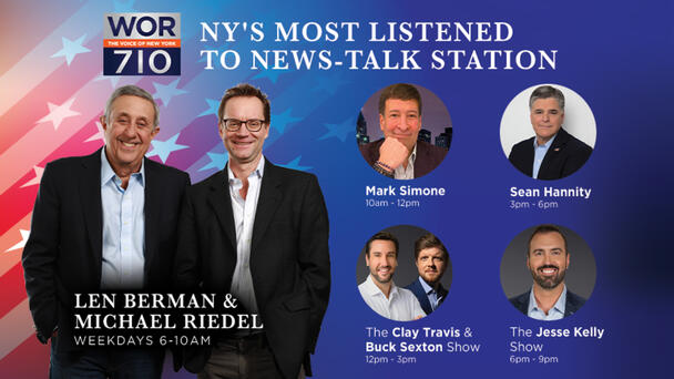 The Most-Listened To Talk Radio Shows In NY!
