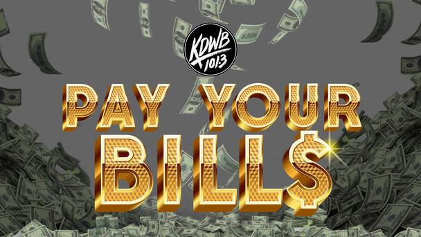 Pay Your Bills with $1000 every hour on 101.3 KDWB!