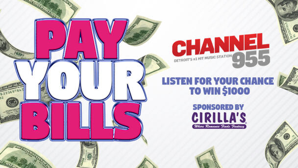 Listen for your chance to win $1000
