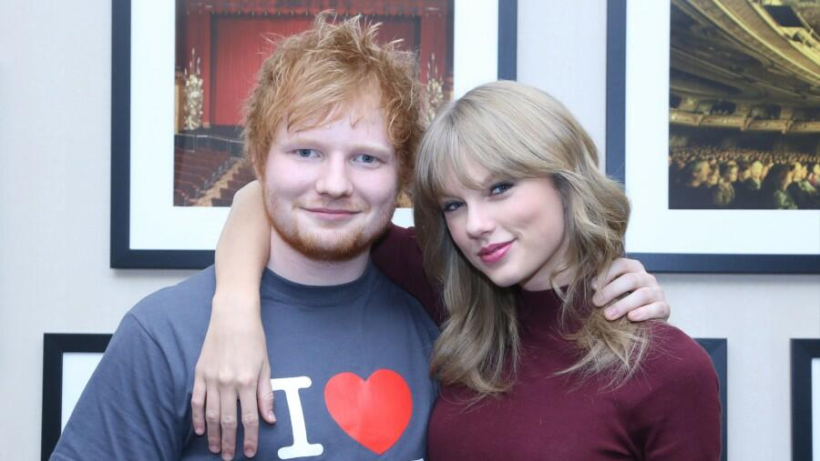 Taylor Swift Cannot Get Ed Sheeran's 'Bad Habits' Out Of Her Head