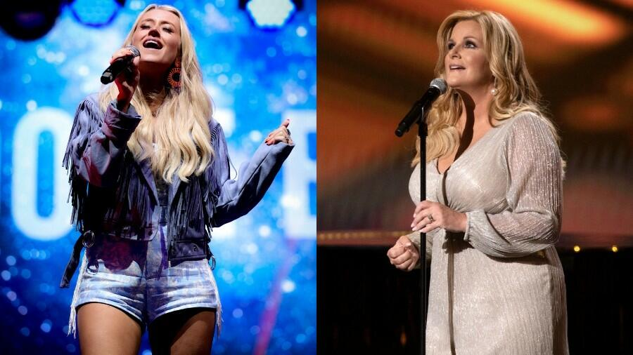 Trisha Yearwood & Brooke Eden Sing 'She's In Love With The Girl' At Opry