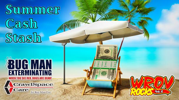 Listen to Win $1,000 With Summer Cash Stash on 96.3 ROV! 12 Chances to Win Every Weekday!