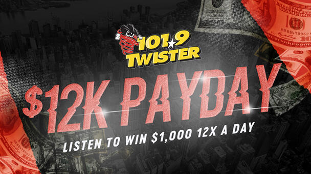 Listen to Win $1000 with the 12K Payday!