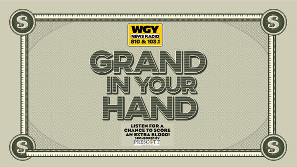 Chance to win $1,000 with Grand In Your Hand