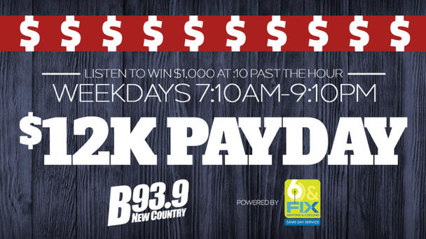 Win $1000! The 12K Payday is back!