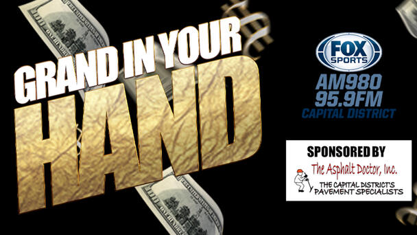 Chance to win $1000 with Grand In Your Hand