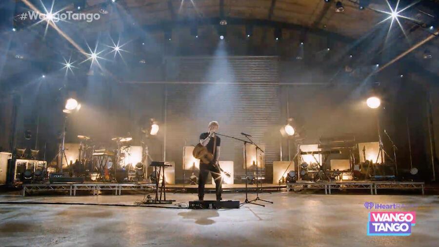 "Ed Sheeran Brings ""Bad Habits"" To 2021 iHeartRadio Wango Tango"