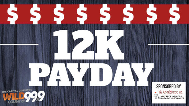 Chance to win $1000 with 12K Pay Day!