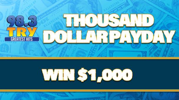 Chance to win $1000 with Thousand Dollar Payday!