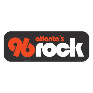 Atlanta's 96 Rock logo