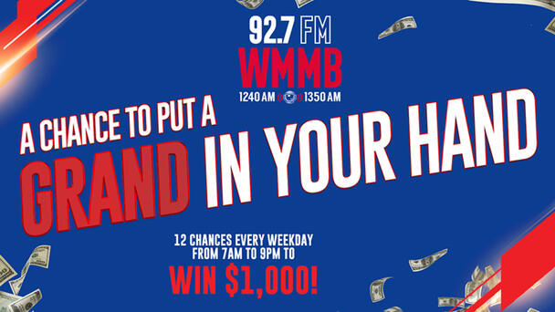 A Chance To Put A Grand In Your Hand!