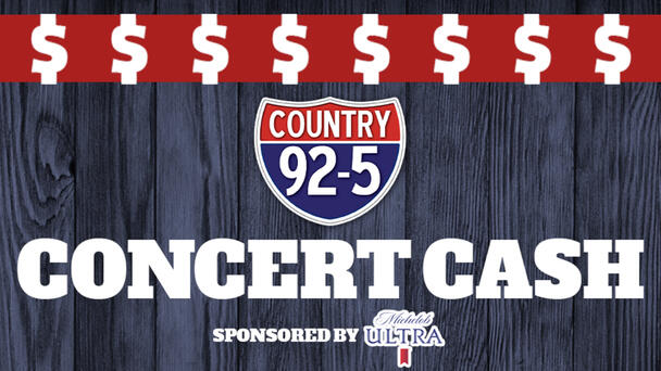 Country 92-5's Concert Cash