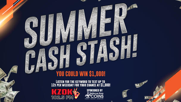 102.5 KZOK Summer Cash Stash