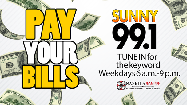 Listen for 12 chances each weekday to score your cash!