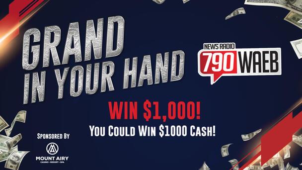 Win $1000 - 12X Each Weekday on WAEB!