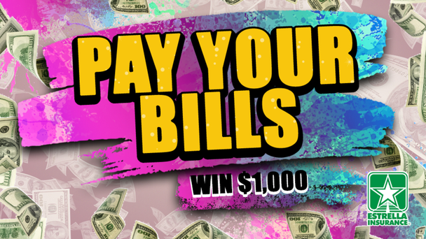 Listen To Win $1,000 to Pay Your Bills!