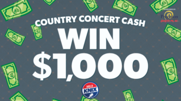 Listen To Win $1000 Country Concert Cash!