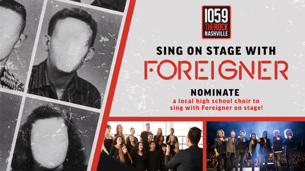 Your kids' choir can open for Foreigner!