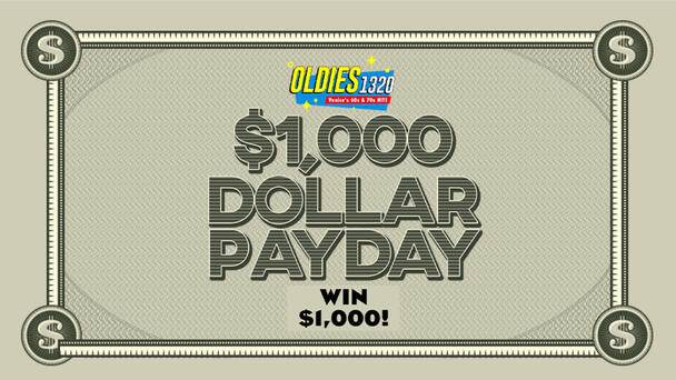 Win $1,000 12 Times Each Weekday