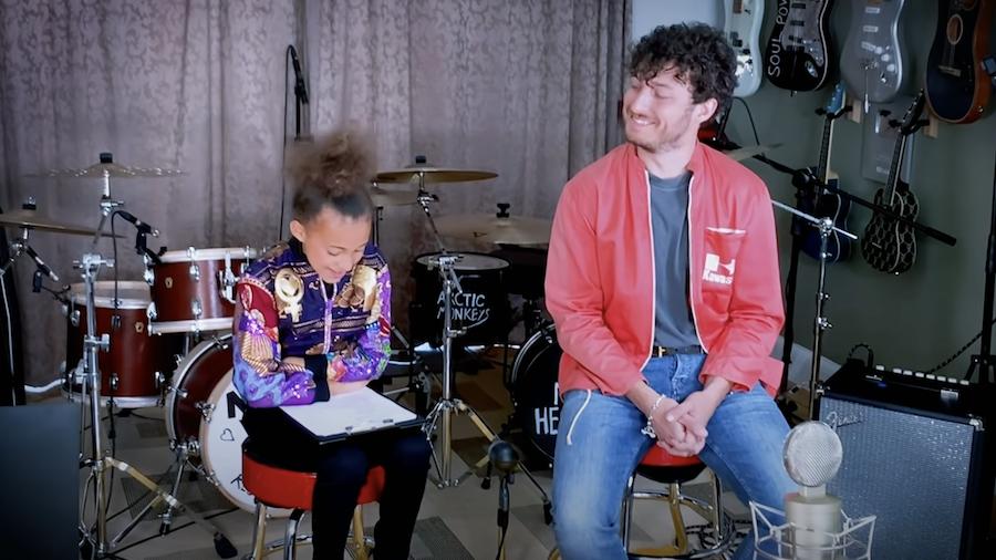 Watch Nandi Bushell Interview And Jam With Arctic Monkeys' Matt Helder