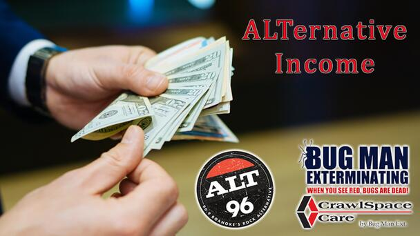 Listen to Win $1,000 in ALTernative Income from ALT 96! 12 Chances to Win Every Weekday!