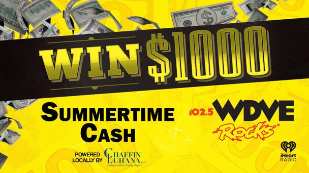 Listen To Win $1,000 in #DVESummertimeCash!