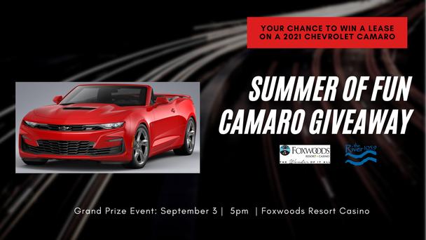 Summer of Fun Camaro Giveaway