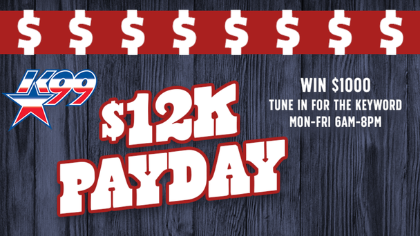 Win $1000 With The $12-K Payday
