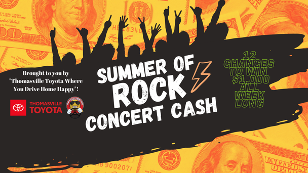 Summer of Rock Concert Cash