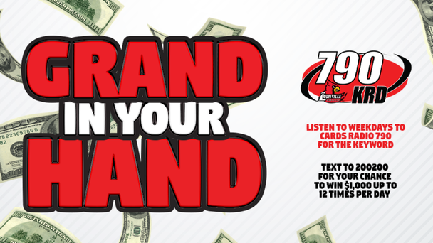Grand In Your Hand: Win $1,000