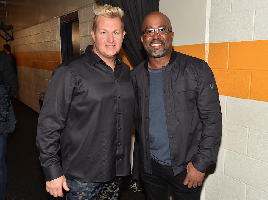 Darius Rucker Recalls Getting Pulled Over In A Golf Cart With Rascal Flatts