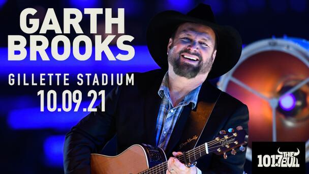 WIN tickets to see Garth Brooks play Gillette Stadium