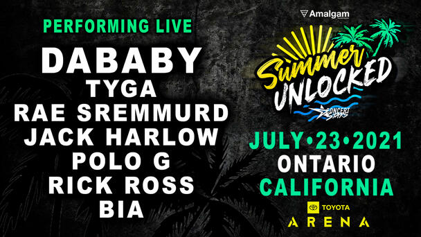 BUY TICKETS to Summer Unlocked at Toyota Arena in Ontario FRIDAY