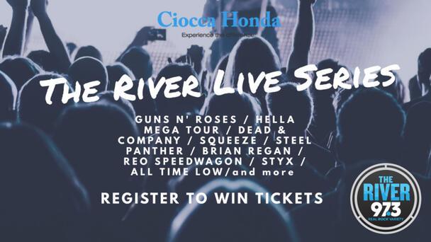 CIOCCA HONDA PRESENTS THE RIVER LIVE SERIES!