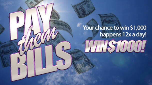Your chance to win $1,000