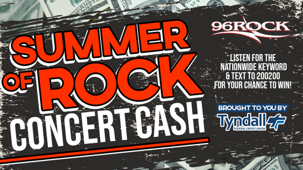 Summer Of Rock Concert Cash- Your Chance To Win $1000!